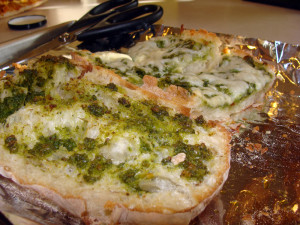 Pesto Cheese Bread