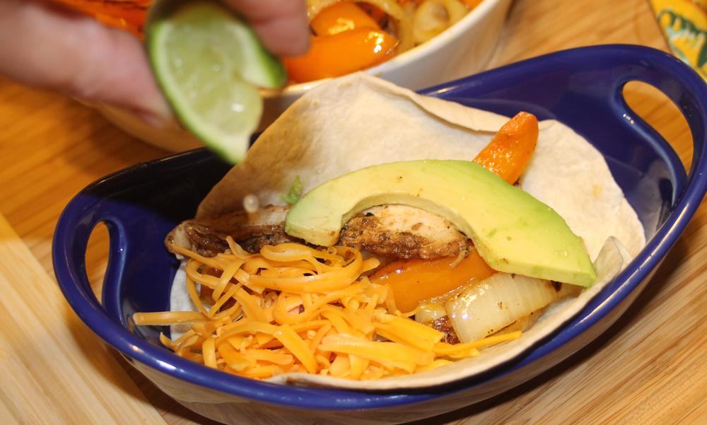 Chili Lime Chicken Fajitas - Love Food, Will Share