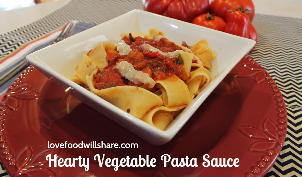 Hearty Vegetable Pasta Sauce 6